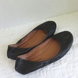 Lucky Brand Emmie Ballet Flats Black Sz 7.5